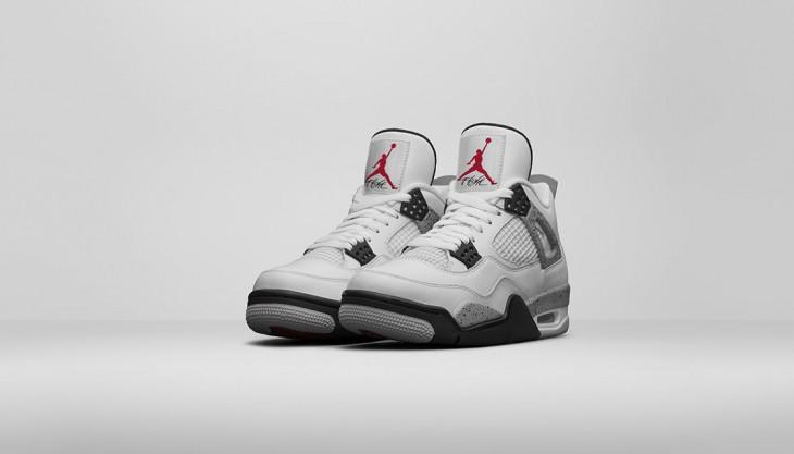 Jordan sortie for White cement art