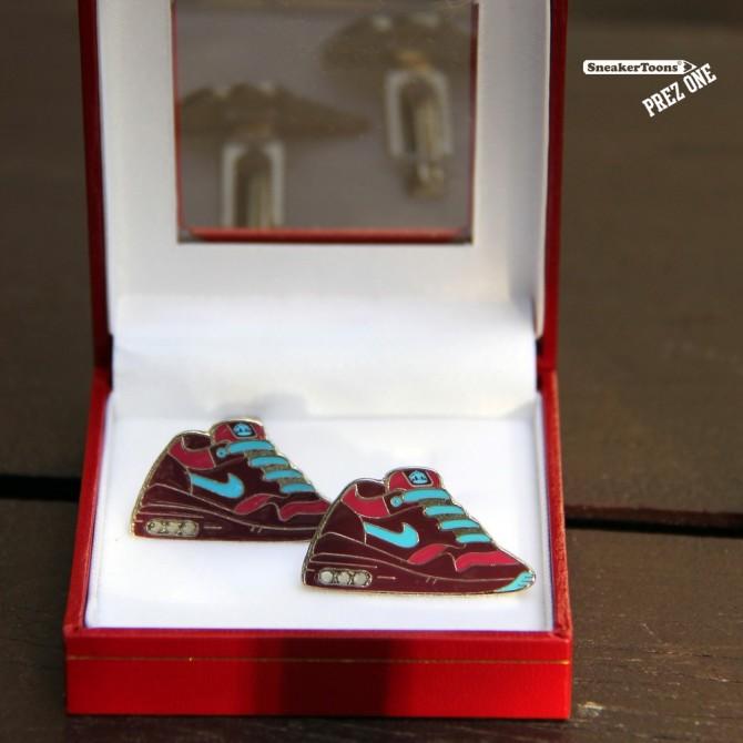 Bouton de Manchette Sneakers Nike Air Max 1 Amsterdam