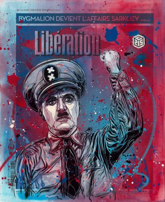 C215 Liberation Artistes à la une