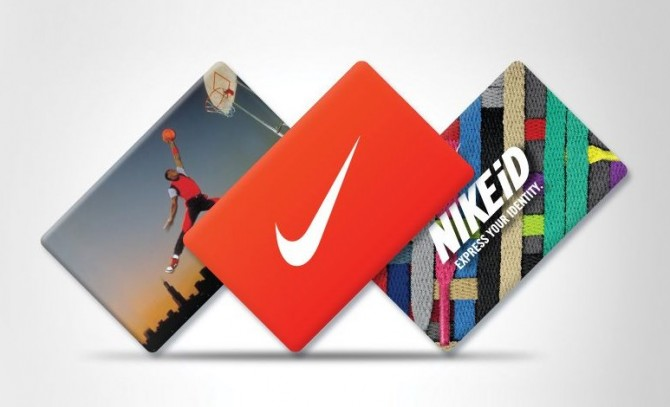Carte Cadeaux Nike Gift Card