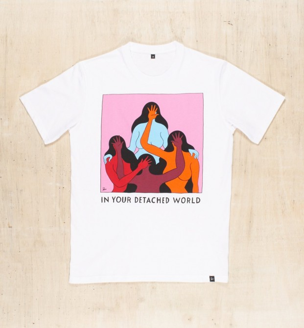 T-shirt DETACHED COLLECTION spring collection by Parra