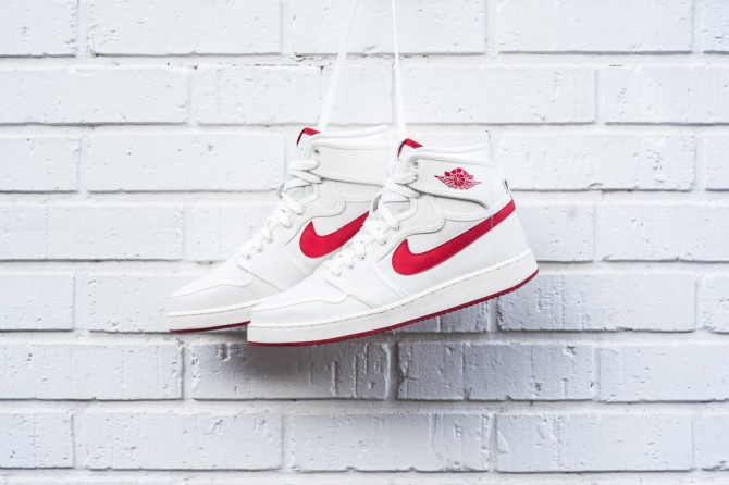 Air Jordan 1 KO High OG Sail Red - code: 638471-102