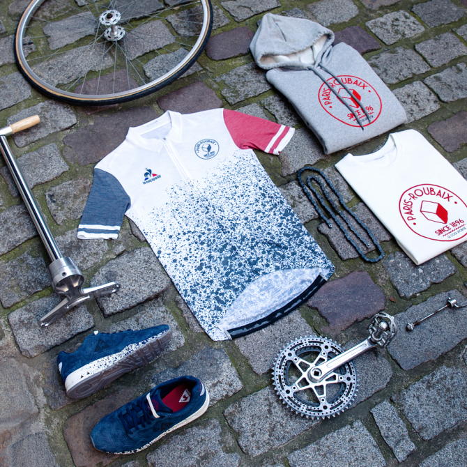 Le Coq Sportif Paris Roubaix Collection Capsule