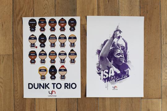 Kit LadyHoop Dunk To Rio