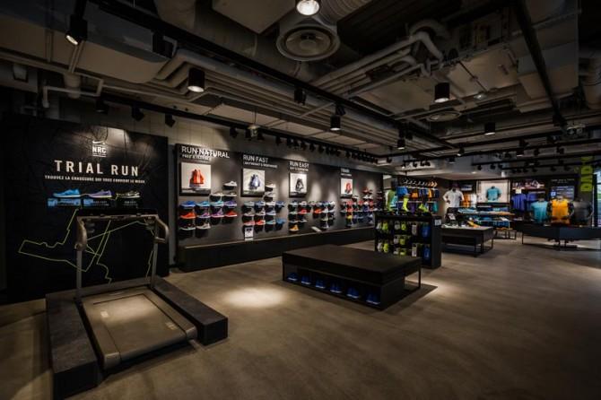 Paris Running Club Nike Store Forum des Halles