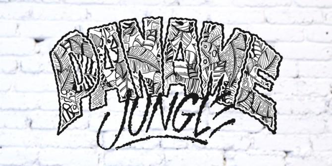 Logo Wrung Paname Jungle réalisé par le graphiste MPY Was Here