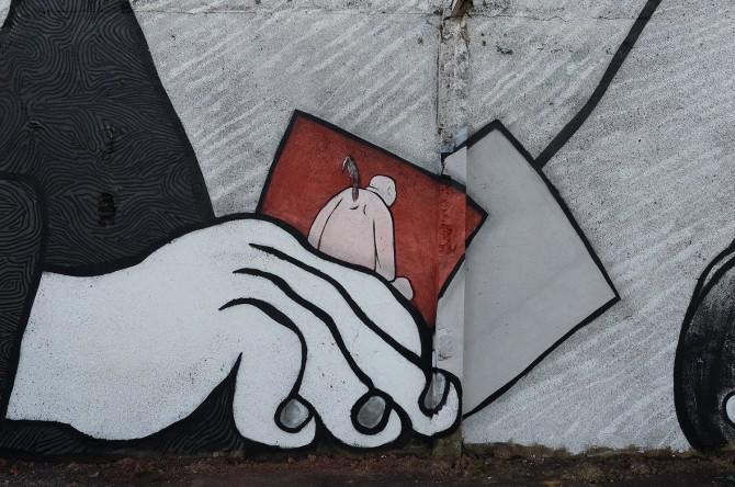 Ella et Pitr Street-Art Saint-Etienne 2016
