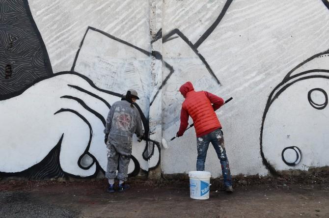 Ella et Pitr Street-Art Saint-Etienne
