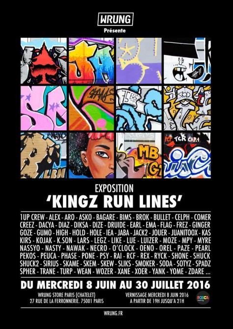 Exposition Wrung Kingz Run Lines