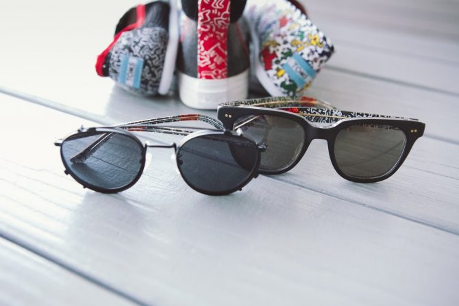Lunettes TOMS X Keith Haring