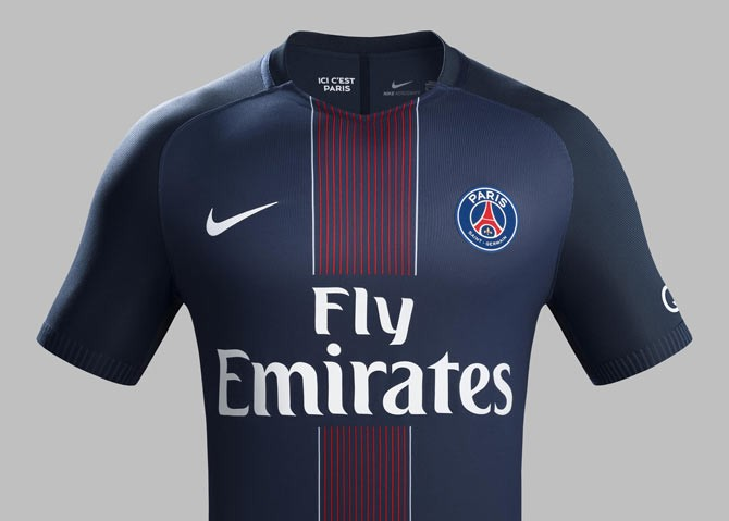 Maillot Paris Saint-Germain 2016-2017