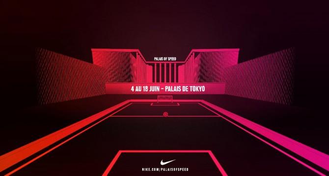 Nike Palais of Speed au Palais de Tokyo à Paris du 4 au 18 Juin 2016