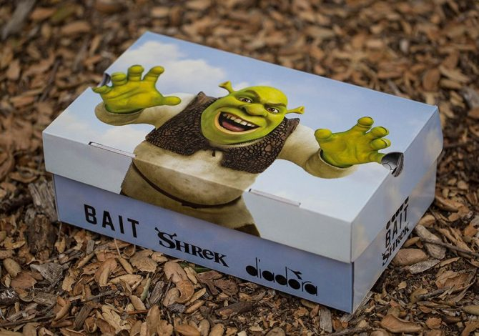 Bait DreamWorks Diadora N9000 Shrek box