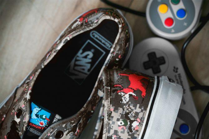 Basket Vans-Nintendo