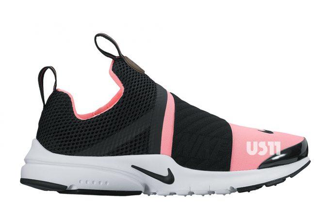 Nike Air Presto Slip-On Black Pink