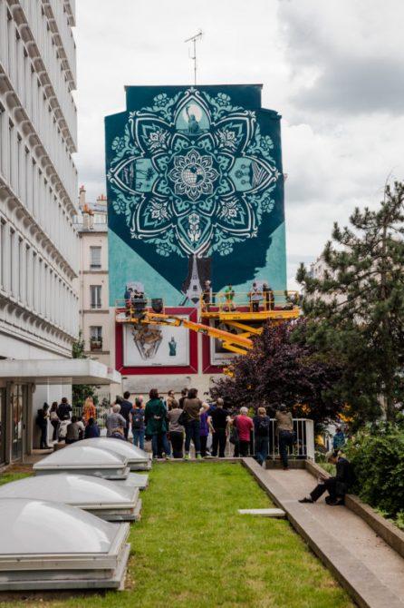 Obey Street Art 2016 Paris 13