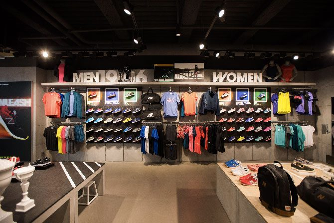 Boutique new balance paris sneak art - Magasins les halles paris ...