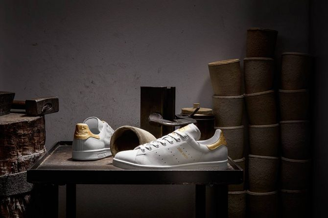 adidas Stan Smith Gold Leaf pack