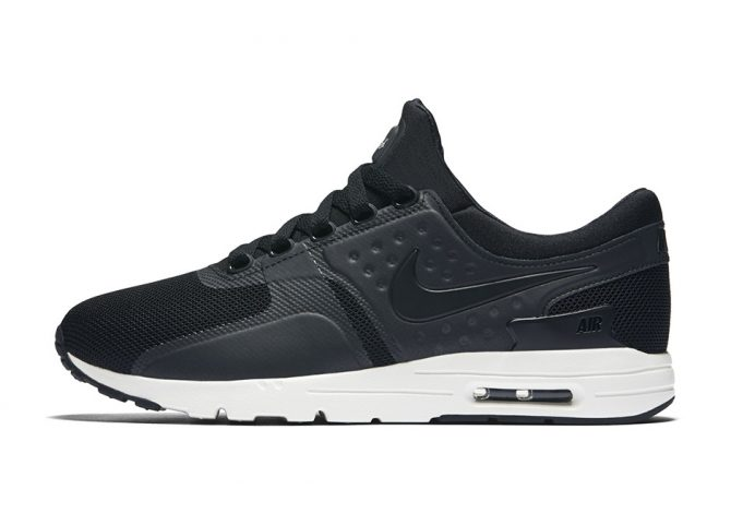 nike air max zero black white