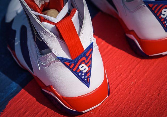 Photo Air Jordan 7 Olympic Alternate 2016