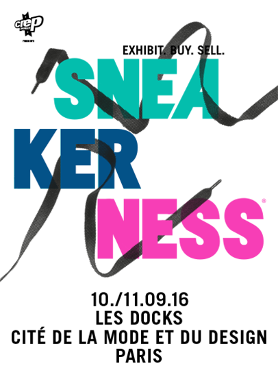 Sneakerness Paris 2016