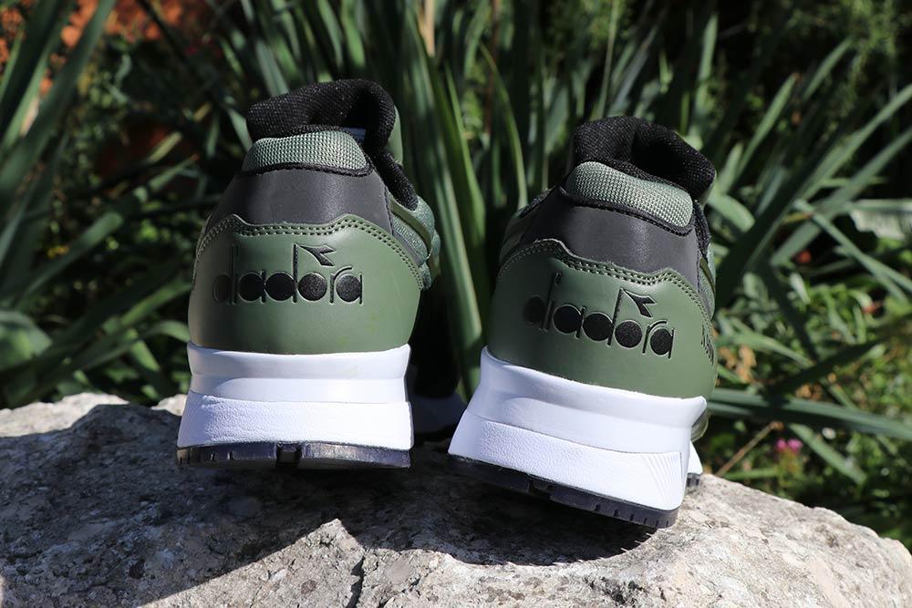 chaussure diadora N9000 mm bright 2 green black