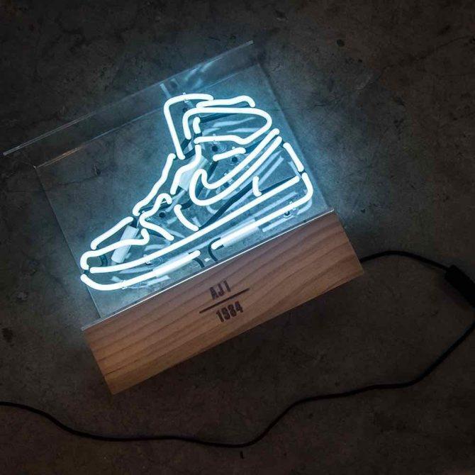 Neon Sneakers Air Jordan 1
