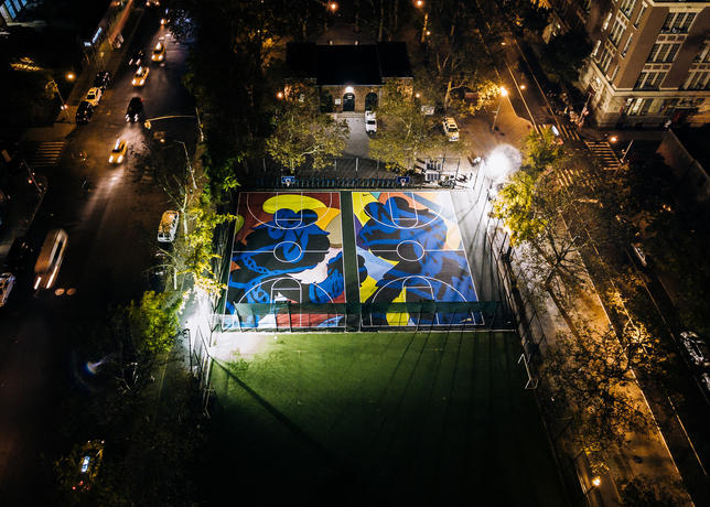 KAWS Court Nike - New York