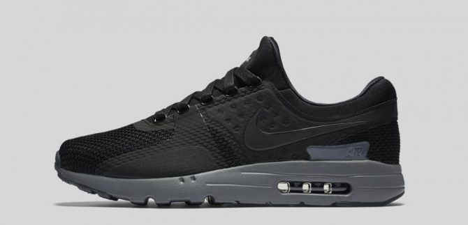 Nike Air Max Zero « Black/Dark Grey »