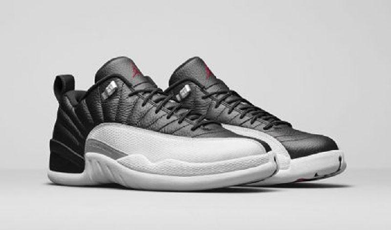 Air Jordan XII Low Playoffs