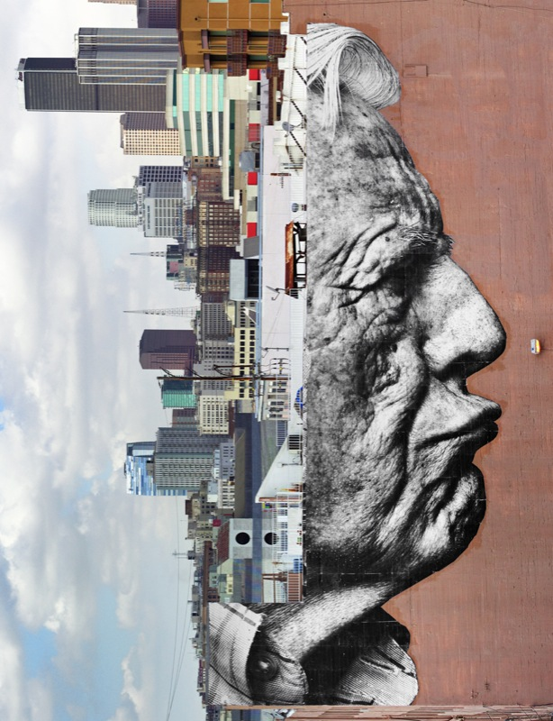 J.R. The wrinkles of the city Los Angeles- Galerie Perrotin
