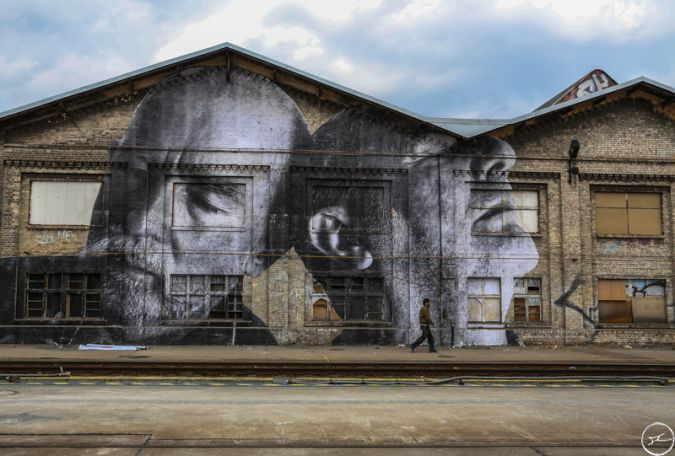 JR - The Wrinkles of the city takes over berlin-2013