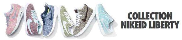 Collection Nike iD X Liberty of London