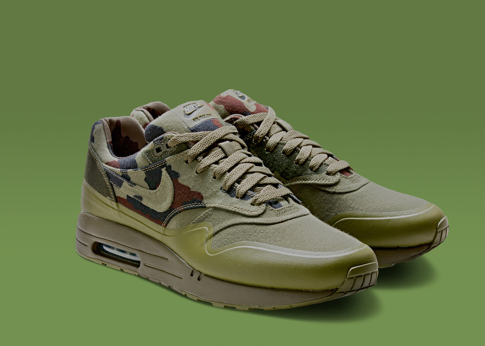 Air Max 1 France - Nike Air Max Camo Collection