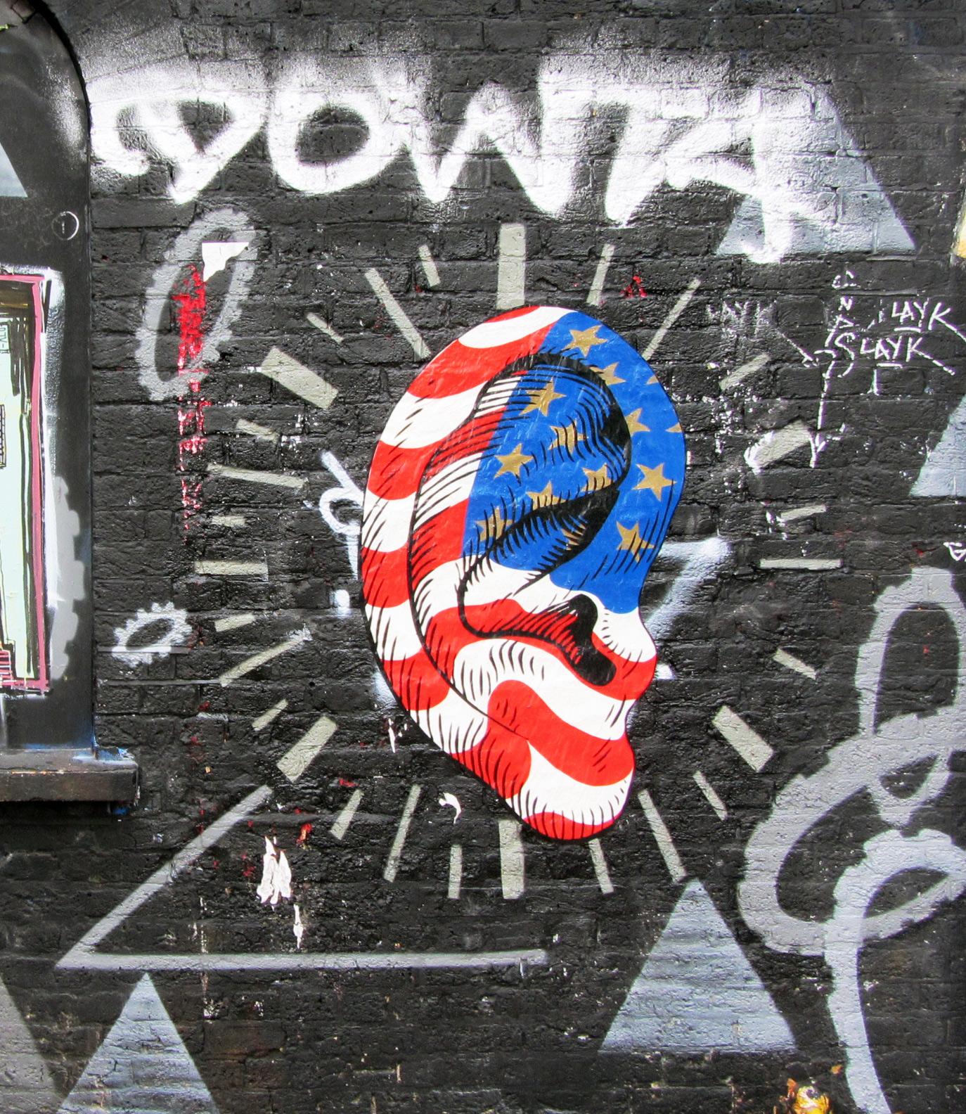 Street Art London Shoreditch -Brick Lane