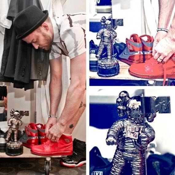 Justin Timberlake MTV VMA Air Jordan Red