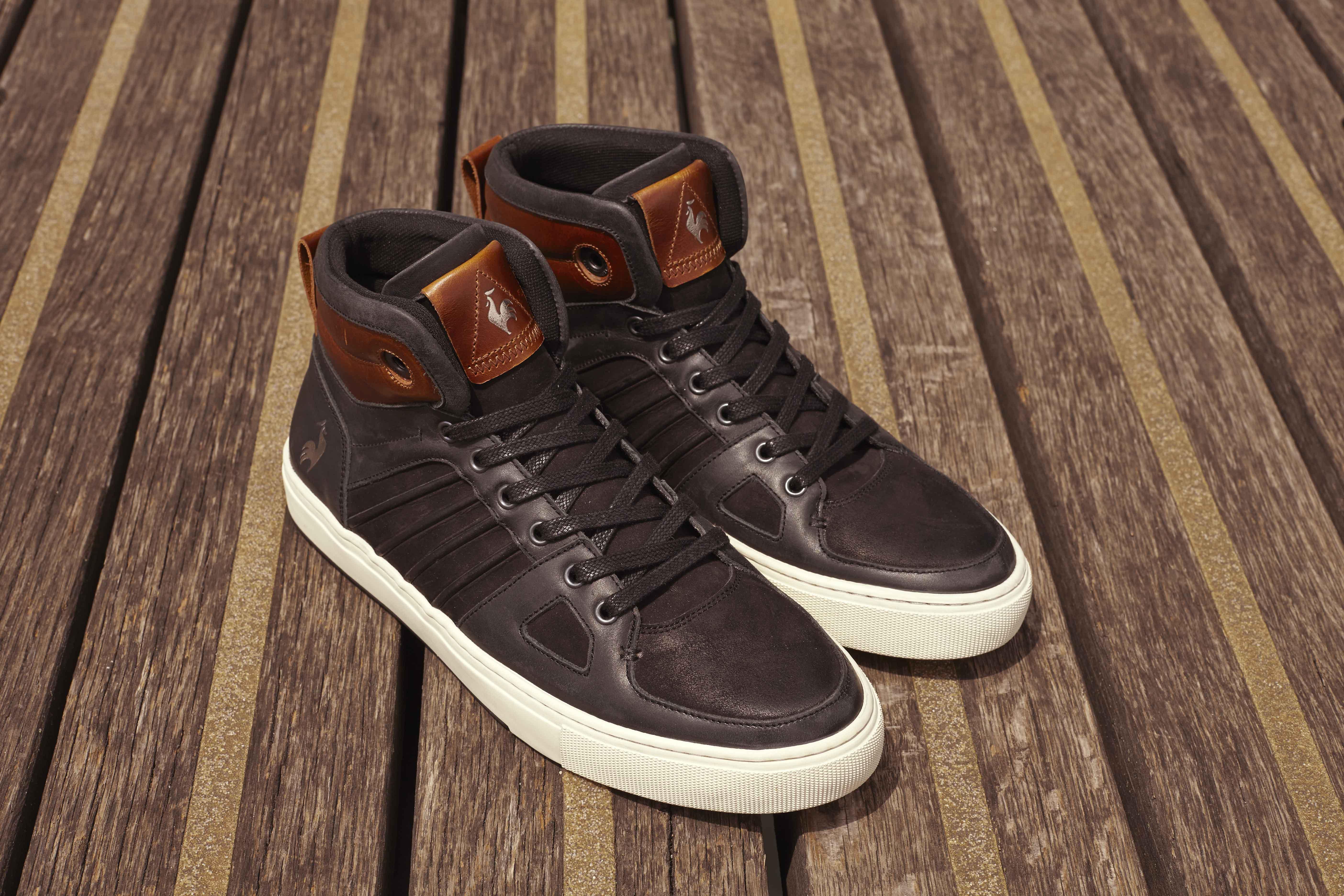 Sneakers Le Coq Sportif Mabillon mid noire