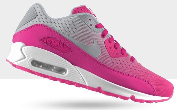 Nike Air Max 90 Mesh iD Femme