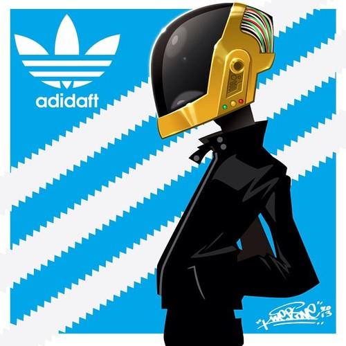 Daft Punk Adidas by Kwestone