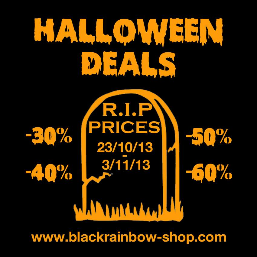 Halloween Deals chez Blackrainbow Paris