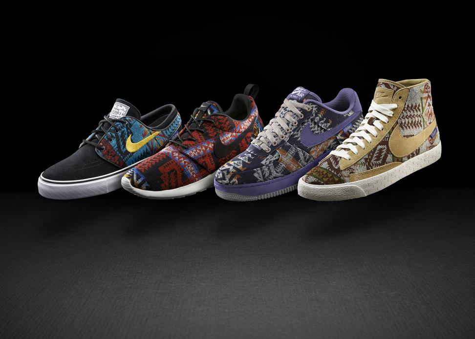 Nike iD X Pendleton Woolen Mills - Premium iD Collection