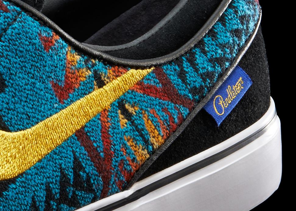 Nike iD x Pendleton Janoski Detail 2