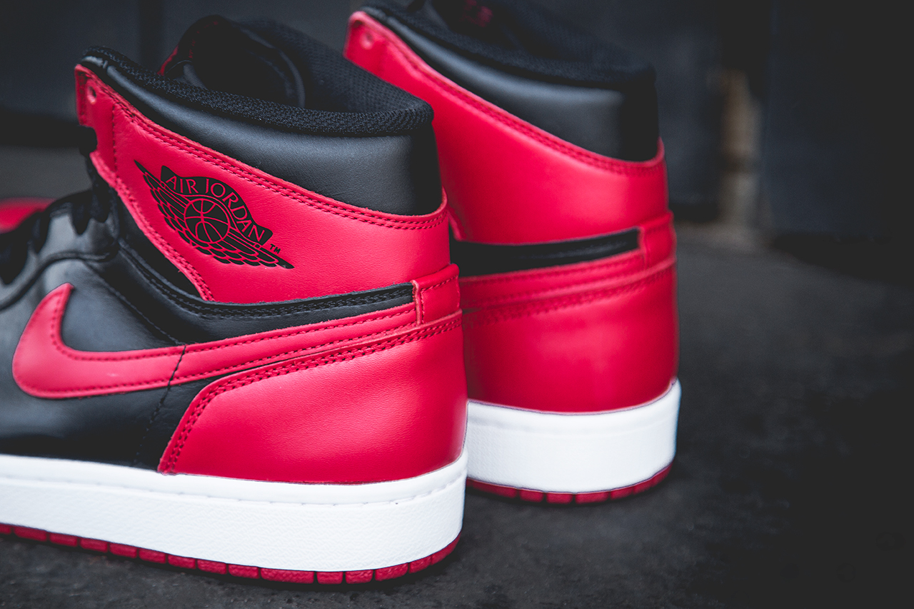 Air Jordan 1 Retro High OG Bred visuel 2013