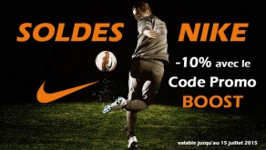 Code Promo Nike Soldes ete 2015