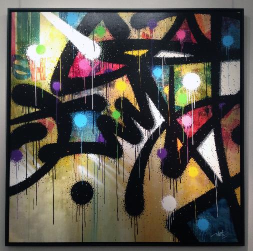 Exposition-Mist-Son-of-Actarus-Galerie-LeFeuvre-Tableau3