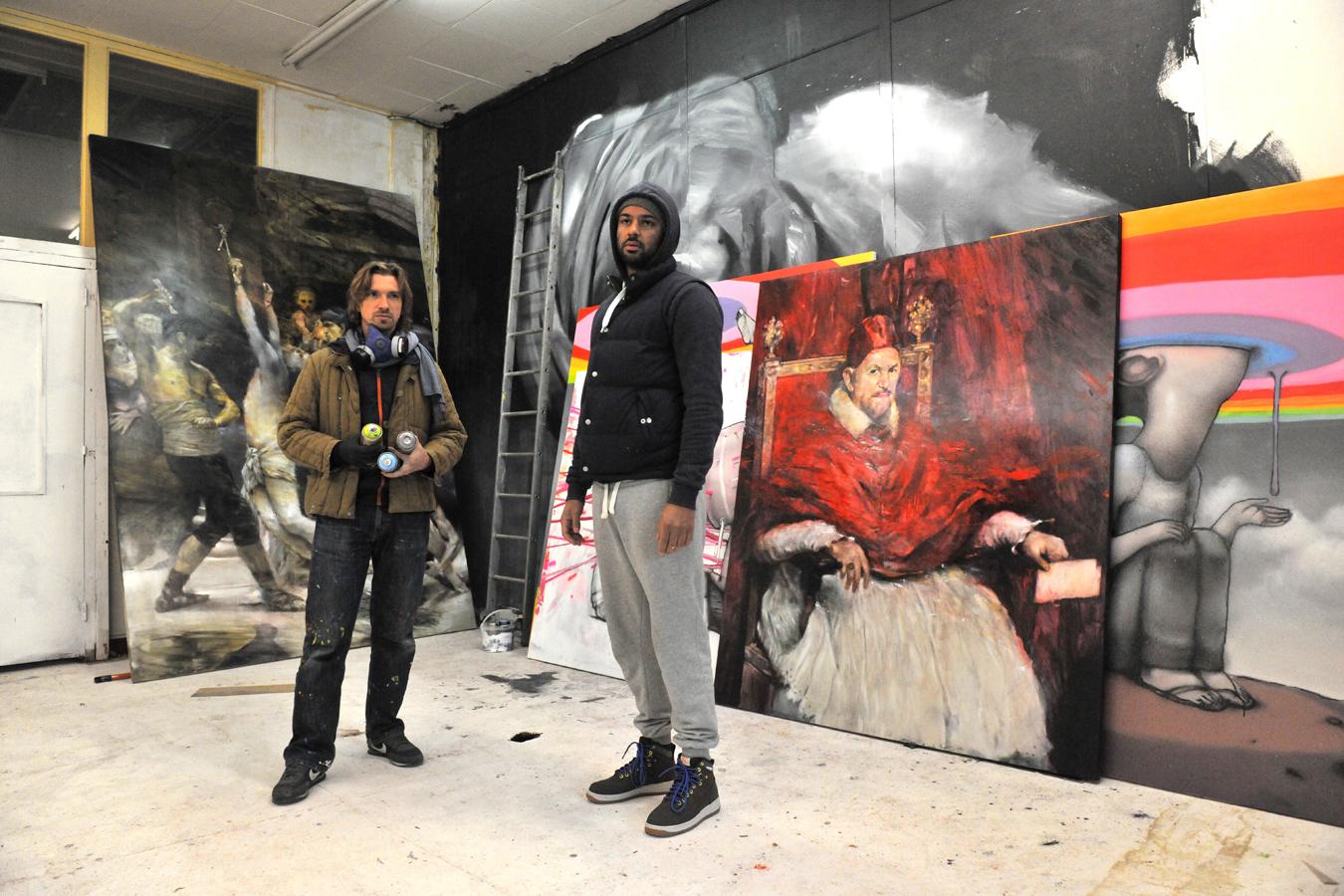 Julien Malland Seth et Pascal Vilcollet