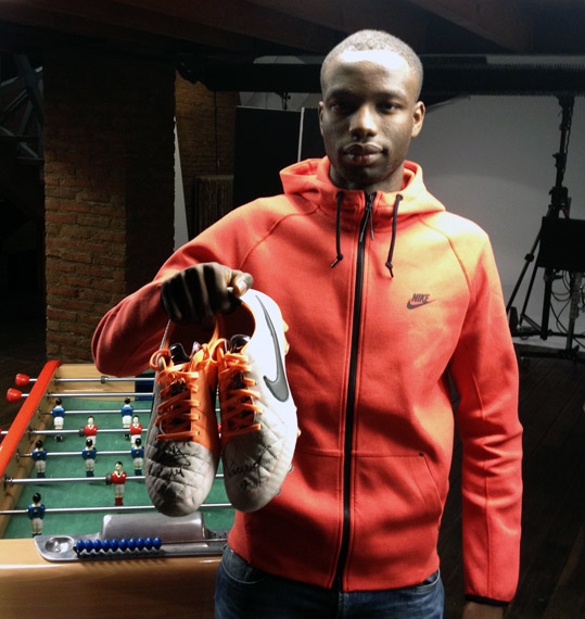 Ibrahima Diawara Nike Tiempo V