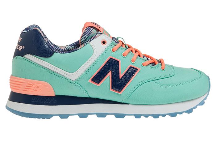 new balance 574 bleu corail