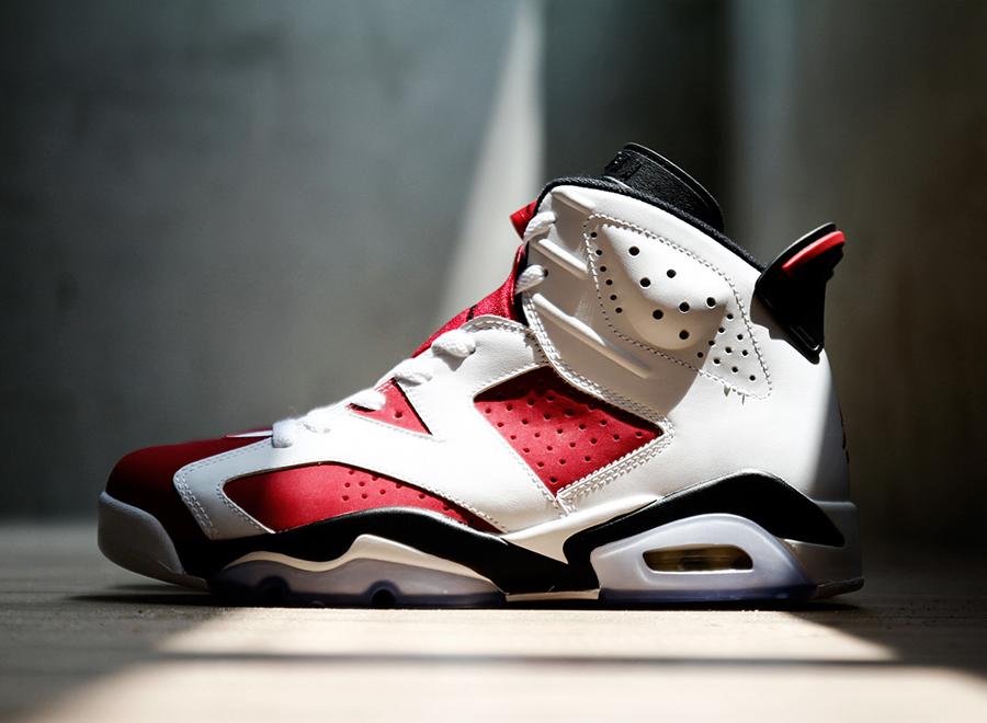 "Nike Air Jordan 6 ""Carmine"" Sortie Mai 2014 | Sneak art"
