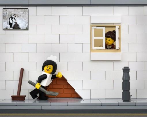 Banksy Lego Jeff Friessen